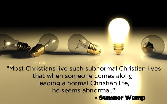 Normal Christian Life