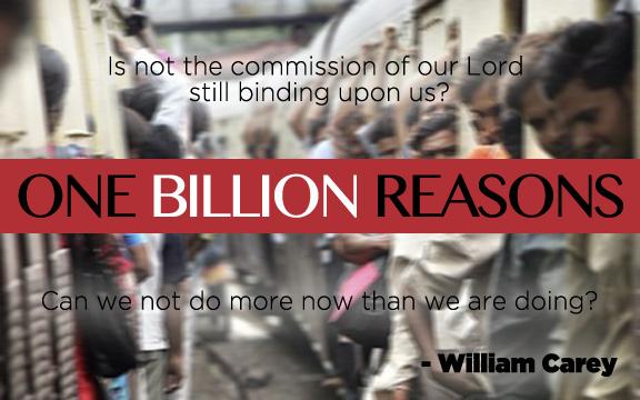 One Billion Reasons